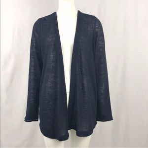 Crosby Open light knit sweater cardigan M EUC
